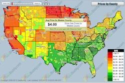 Gas Buddy Map May 27 2013