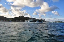 PlanetSolar Arrives at St. Martin
