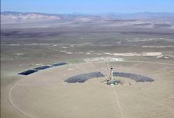 CSP Cresent Dunes Project
