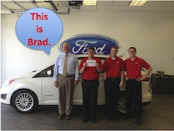 Charles Gabus Ford Team