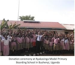 Kyocera donates solar power system2