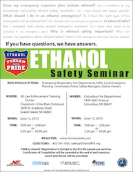 NEB 2013 Ethanol Safety Seminars
