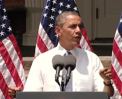 President Obama June 25 2013 Climate Change speech