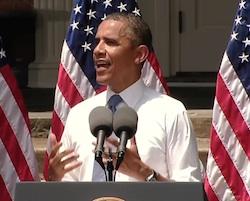 President Obama at Georgetown