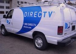 direcTV-van