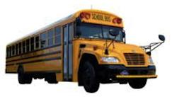 Blue Bird Propane Bus