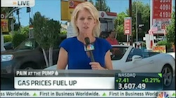CNBC Story on Rising Gas Prices July-15-2013