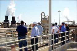 GEA- geothermal plant tour