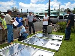 Solar PV Panels at Inn Schofield Barracks