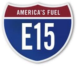 E15 sign