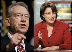 Senators Grassley and Klobuchar