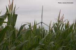 Wind turbine near Galva Iowa