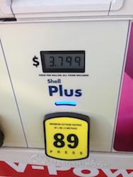 Gas Price on Sept 4-2013 in Missouri