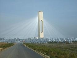 Solana solar power plant