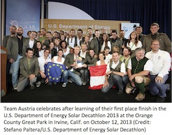 Team Austria 2013 Solar Decathlon