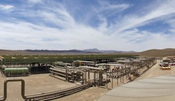 Ormat's McGinness Hill geothermal plant