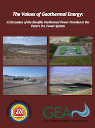 The Value of Geothermal Report