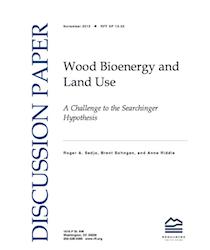 Wood BioEnergy and Land Use paper