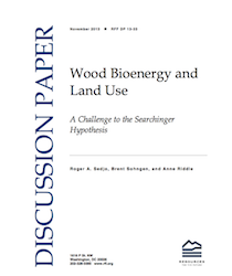 Wood BioEnergy and Land Use paper