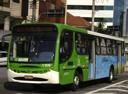 Biodiesel Bus in Brazil