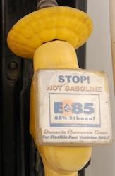 E85 pump handle