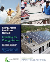 Energy practitioners network
