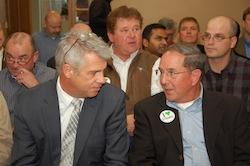 IL Farm Bureau Adam Nielsen and former IL State Sen Todd Sieben