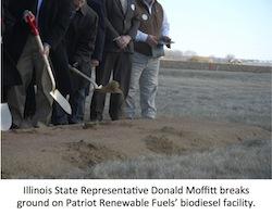 IL Rep Moffit groundbreaking