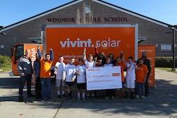 VIVINT SOLAR WINDSOR MIDDLE SCHOOL CHECK