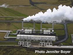 geothermal energy Photo Jennifer Boyer