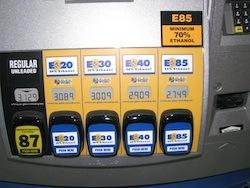 Freedom Fuel ethanol blender pump