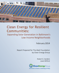 Clean Energy for Resilient Communities
