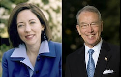 Sens Cantwell and Grassley