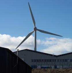 albion community power wind