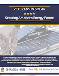 Veterans in Solar