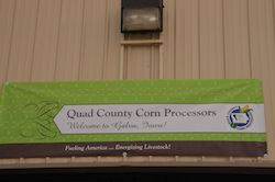 Quad County Corn Processors Sign