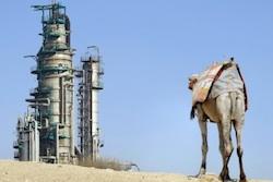 Saudi Arabia Oil Camel
