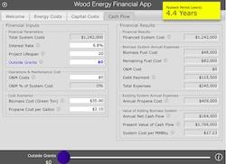 Wood Enery App