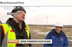 honda wind powered plant