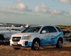 GM hydrogen-powered Chevrolet Equinox
