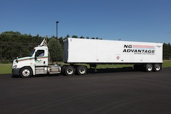HP Hood CNG truck
