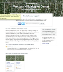 Join Mosaic Put Solar On Western Hills Magnet Center