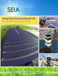 SEIA Cutting Carbon Emissions