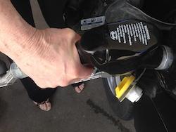 E-85 fill-up photo Joanna Schroeder