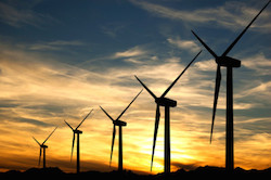 Jeffreys Bay Wind-Farm-Sunset