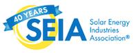 SEIA 40 anniversary logo