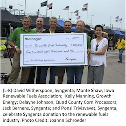 Syngenta 2014 $1 per acre donation