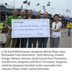 Syngenta 2014 $1 per acre donation
