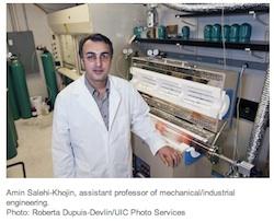UIC researcher Amin Salehi-Khojin
