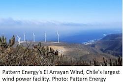 El Arrayan Wind Farm -Chile